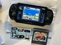 MONSTRE MINT Ps Vita Pch 1104 Oled Boxed Henkaku 3.65 Enso 400 Giga Sd2vita