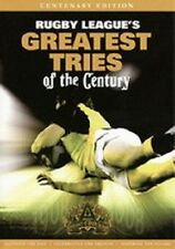 NRL: RUGBY LEAGUE'S GREATEST TRIES OF THE CENTURY – DVD, HOSTED BY LAURIE DALEY