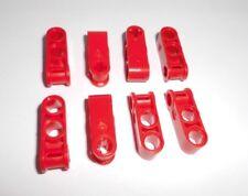 Lego Technic (42003) 8 cruz/doppelpin conectores, en rojo de 8258 8674 8070 8653