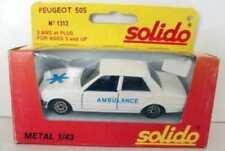 Coches, camiones y furgonetas de automodelismo y aeromodelismo Solido de plástico Peugeot