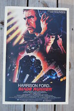 Blade Runner Lobby Card Movie Poster Harrison Ford Ridley Scott