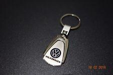 Volkswagen Stainless Embossed Key Ring Chain Polo Golf GTI R Jetta Passat Tiguan