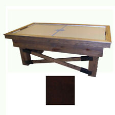 Mahogany Maple Dynamo Rustic Air Hockey Table