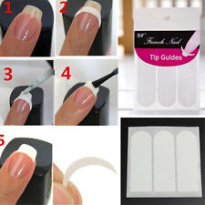 240 PCS STICKER DECALS AUTOCOLLANT TIP GUIDE FRENCH MANUCURE NAIL ART DECORATION