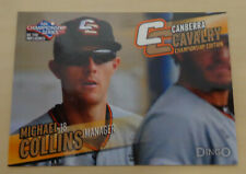 MICHAEL COLLINS 2013/14 Australian Baseball League-Canberra Cavalry-AZL Padres 2