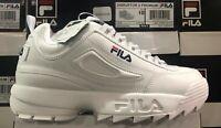 FILA DISRUPTOR II Premium Men's Tracking Shoes White 1FM00139-125  L