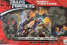 TRANSFORMERS ROBOT FIGHTERS OPTIMUS PRIME vs MEGATRON 2007 NIB 41064