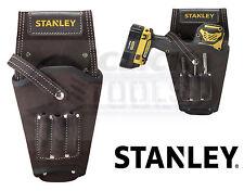 Stanley Ceinture en cuir monté Drill Holster Droit ou gauche Parasurtenseur 1-80118 Daim