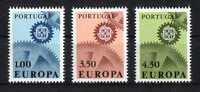 Portugal CEPT Nr. 1026 - 1028 ** postfrisch Europa 1967 MNH