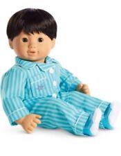 American Girl BITTY TWIN BOY BLUE STRIPED PJS Retired Pajamas New