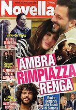 Novella 2015 49#Ambra Angiolini,Gabriel Garko & Adua Del Vesco,Le Donatella,iii