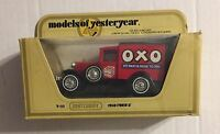 "MATCHBOX 1978 LESNEY ENGLAND ""MODELS OF YESTERYEAR"" 1930 FORD ""A"" ""MEAT & DRINK"""