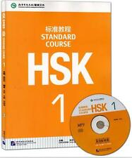 Chinese Mandarin students textbook :Standard Course HSK +1 CD (mp3) -Volume 1