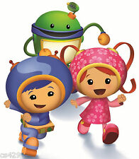 """9.5"""" Team umizoomi geo milli bot  birthday wall decal decor cut out character"""