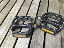 "GT Pedals 1/2"" Aluminum 1 Piece Cranks BMX Mid Old School Black"