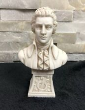 Mozart Bust Figurine Statue Made In Italy