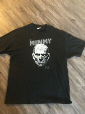 Boris Karloff as THE MUMMY Mens T-Shirt Size Xl Black Rare Vintage 90 Collection