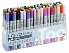 Brand New COPIC Ciao Set B 72 color Pens+Free Carry Case in London Fast Dispatch
