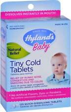 Hyland's, Baby,Tiny Cold Tablets,6 Months+,125 Quick-Dissolving Tablets Original