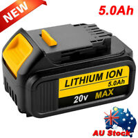 For DeWalt 18v XR 5.0ah DCB184 Li-Ion Battery LED indicator DCB200 DCB182 DCB183