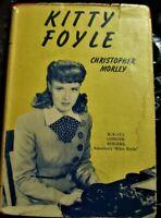 book Kitty Foyle Ginger Rogers Grosset & Dunlap 1939 Christopher Morley w/DJ