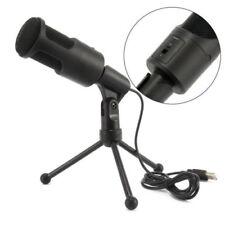 USB Condenser Studio Sound Recording Microphone Mic Shock Mount Tripod Stand