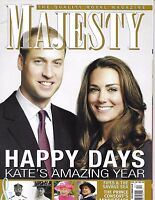 Majesty Magazine Kate Middleton Prince William Queen Elizabeth Consorts Fifes