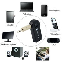 Bluetooth Music Audio Stereo Adapter Receiver for Car AUX IN Home Speaker MP3 XD