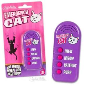 EMERGENCY CAT Electronic Noisemaker Mew Meow Catfight Pur - Archie McPhee