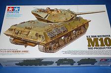 Tamiya 35350 - US Tank Destroyer M10 Mid Production scala 1/35