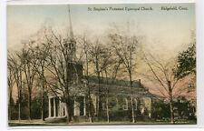 St Stephens Protestant Episcopal Church Ridgefield Connecticut postcard