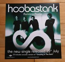 Hoobastank Double Sided Promo Poster Ultra Rare