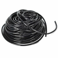 Black or Clear 4mm Air Line Aquarium Fish Tank Pond Air Pump Pipe Tube 3/5mm PVC