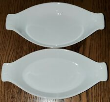 2 new with stickers Pier 1 baking dishes/au gratin/individual French casseroles