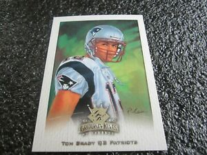 "2002 GRIDIRON KINGS NFL ""CROWNING MOMENT"" CARD TOM BRADY PATRIOTS/BUCCANEERS #55"