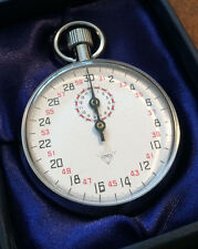 Diamond Mechanical Stopwatch 60 Seconds Per Turn 13 Jewels - NEW -