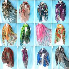 *US SELLER*wholesale 5pcs vintage leaf floral sarong scarf dress beach clothing