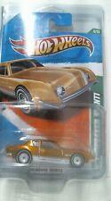2011 Hot Wheels 055/214  Studebaker Avanti SUPER Treasure Hunt  - Gold