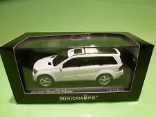 MINICHAMPS  1:43  MERCEDES BENZ  GL-KLASSE   - GOOD CONDITION IN BOX