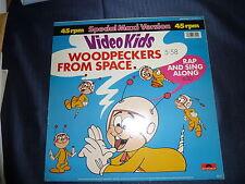 Maxisingel Woodpeckers From Space von den Video Kids
