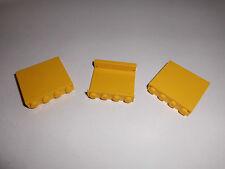 Lego (4215a) 3 Paneele 1x4x3, in gelb aus 4563 6542 6541 6352
