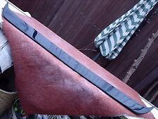 FRONT SPOILER FORD ESCORT RS MK1 BRAND NEW BLACK FIBREGLASS
