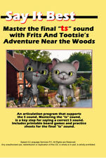 """Speech Therapy Articulation DVD program for the """"TS"""" Sound"""