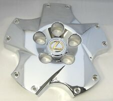 2003 2004 LEXUS SC430 CHROME WHEEL CENTER TWIST CAP WITH 24K GOLD PLATED EMBLEM