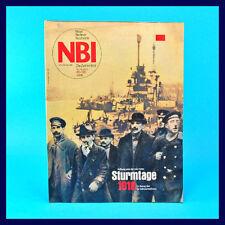 DDR-Zeitschrift NBI 45/1988 - Löbau Klockenhagen Niederrhein Medilab Nikaragua