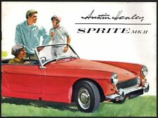 Catalogue Austin Healey Sprite MKII vers 1962