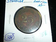 #79 G25---25 CENT STANDARD COAL CO. AMERICA , ALA