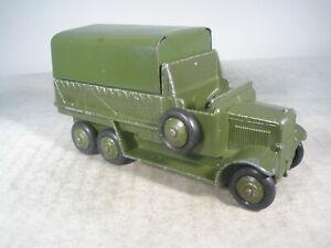 Dinky Toys Military Army 6 Wheel Wagon #151b VERY NICE ORIGINAL CONDITION