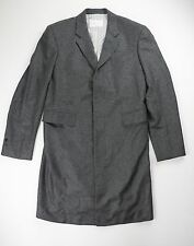 Brooks Brothers Black Fleece Mens Gray 100% Cashmere Top Coat Size BB2 $2498