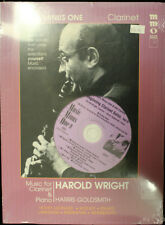 Music Minus One For Clarinet with/Cd Brand New! Free Shipping!